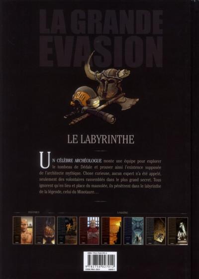 Dos la grande évasion ; le labyrinthe
