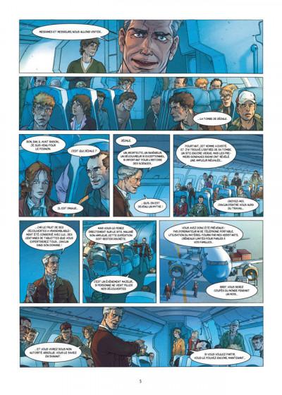 Page 3 la grande évasion ; le labyrinthe