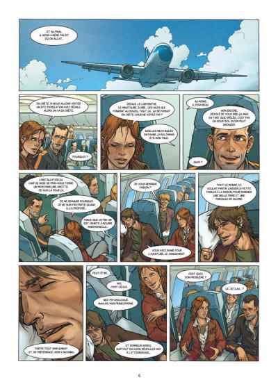 Page 4 la grande évasion ; le labyrinthe