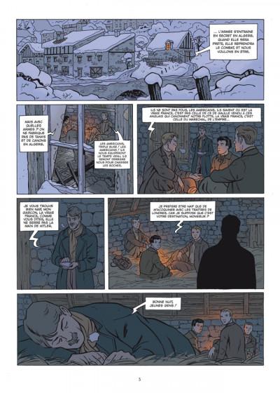 Page 3 les combattants tome 2 - Maréchal, nous voilà