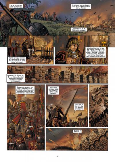 Page 1 Les reines de sang - Aliénor, la légende noire tome 2