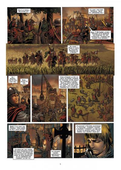 Page 3 Les reines de sang - Aliénor, la légende noire tome 2