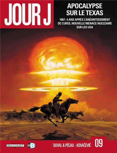 Couverture jour J T.9 - apocalypse sur le Texas
