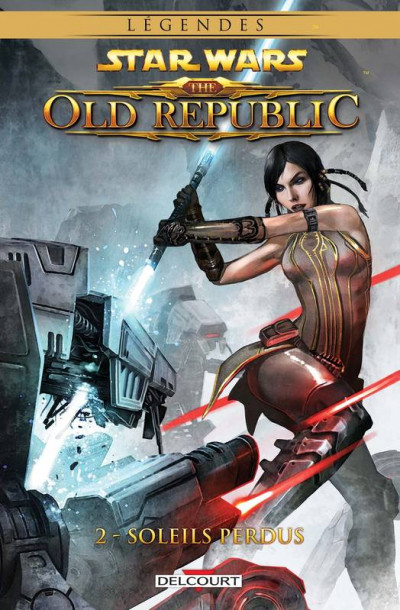 Couverture Star Wars - the old republic tome 2 - soleils perdus