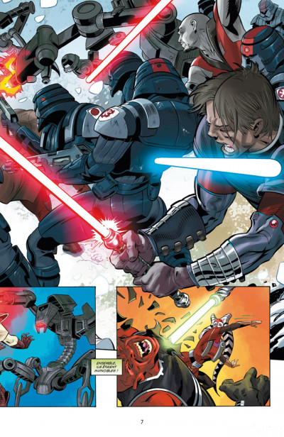 Page 3 Star Wars - the old republic tome 2 - soleils perdus