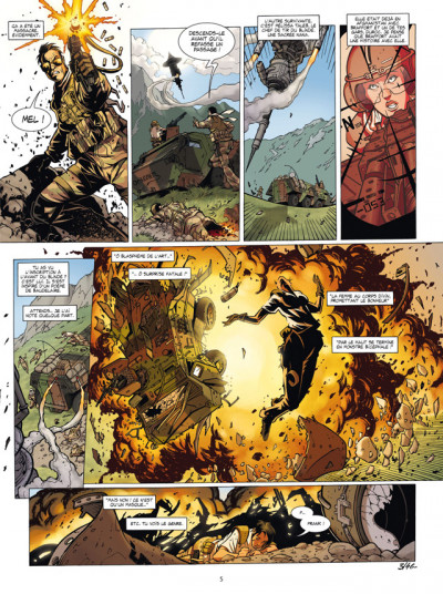 Page 3 masqué tome 1 - anomalies