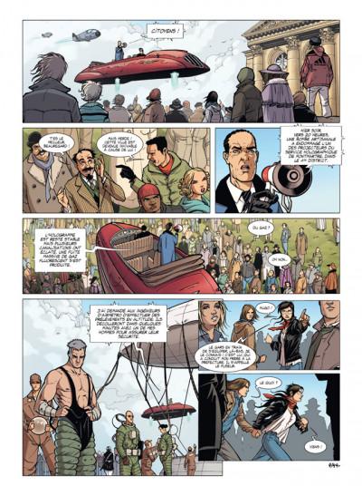 Page 4 masqué tome 2 - le jour du fuseur