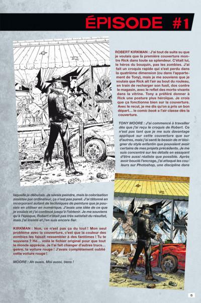 Page 1 Walking dead - art book