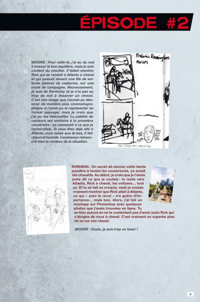 Page 3 Walking dead - art book