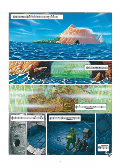Page 1 de cape et de crocs - intégrale tome 5 et tome 6