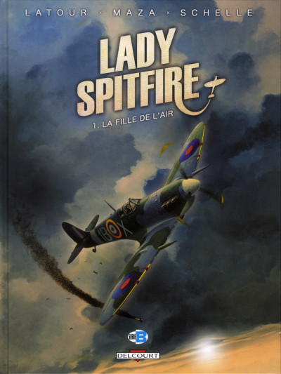 Couverture Lady Spitfire T.1 - la fille de l'air