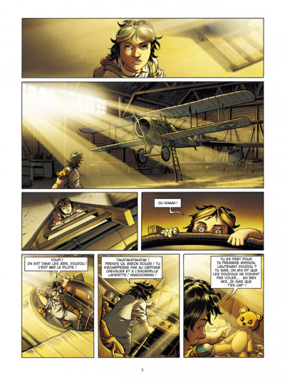 Page 3 Lady Spitfire T.1 - la fille de l'air