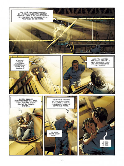 Page 4 Lady Spitfire T.1 - la fille de l'air