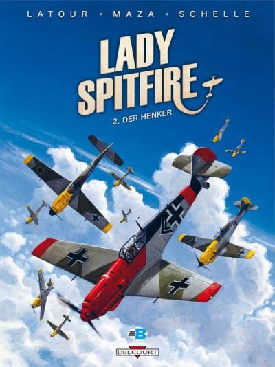 Couverture Lady Spitfire T.2 - der Henker