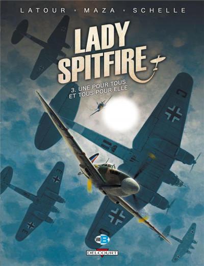 Couverture Lady Spitfire T.3 - une pour tous et tous pour elle