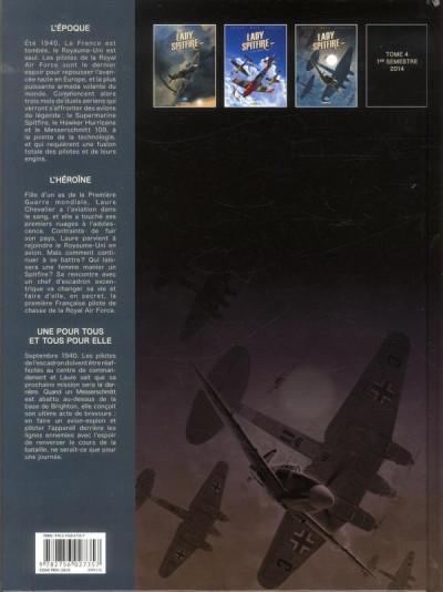 Dos Lady Spitfire T.3 - une pour tous et tous pour elle