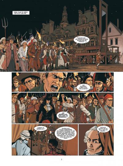Page 1 jour J tome 11 - la nuit des tuileries