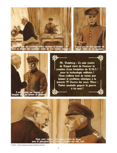 Page 3 Fritz Haber Tome 4 - Des choses à venir