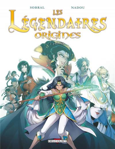 Couverture Les légendaires - origines tome 2