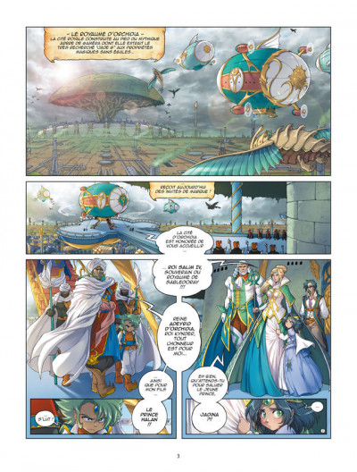 Page 1 Les légendaires - origines tome 2