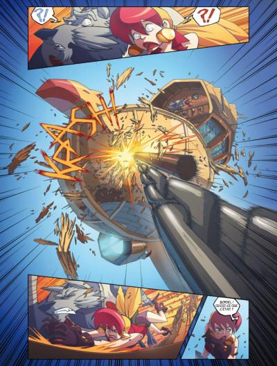 Page 1 azur tome 3 - la déesse Orc