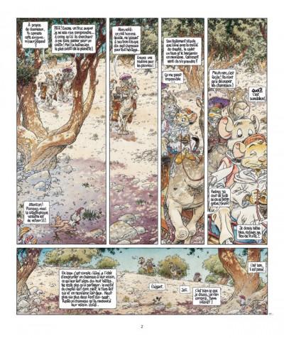 Page 2 le vent dans les sables T.5 - du souk dans la casbah