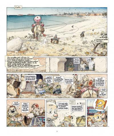 Page 3 le vent dans les sables T.5 - du souk dans la casbah