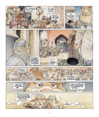Page 4 le vent dans les sables T.5 - du souk dans la casbah