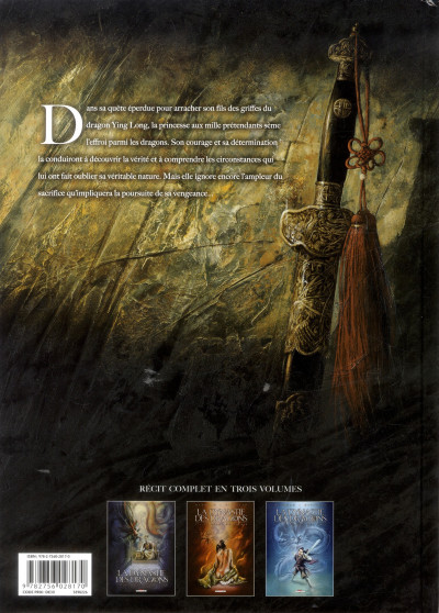Dos la dynastie des dragons tome 3 - la prison des âmes