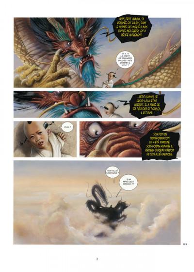 Page 2 la dynastie des dragons tome 3 - la prison des âmes