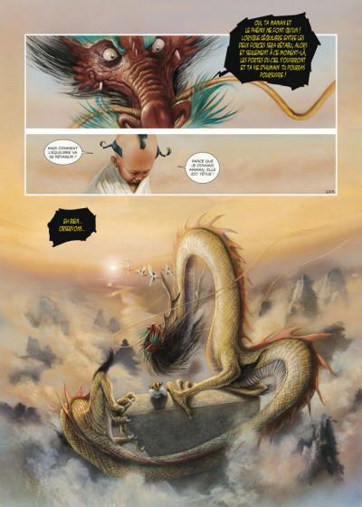 Page 3 la dynastie des dragons tome 3 - la prison des âmes