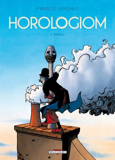 Couverture Horologiom tome 3 - Nahédig