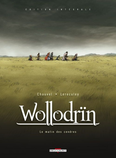 Couverture wollodrïn - intégrale tome 1 et tome 2 luxe N&B