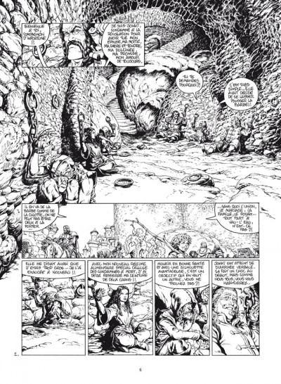Page 2 wollodrïn - intégrale tome 1 et tome 2 luxe N&B