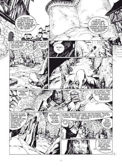 Page 3 wollodrïn - intégrale tome 1 et tome 2 luxe N&B