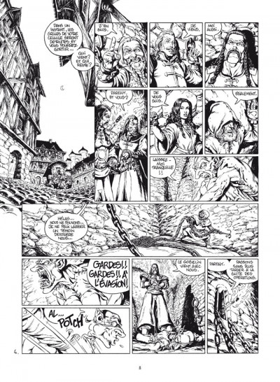 Page 4 wollodrïn - intégrale tome 1 et tome 2 luxe N&B