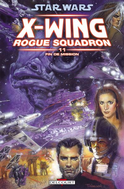 image de star wars - X-wing rogue squadron tome 11 - fin de mission