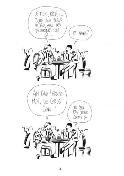 Page 2 Bastien Vivès tome 1 - le jeu vidéo