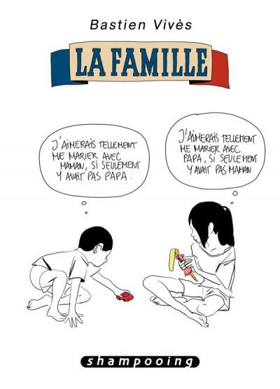 Couverture Bastien Vivès tome 2 - la famille