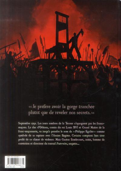 Dos fraternités T.1 - 1792, l'ordre guillotiné