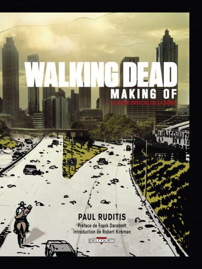 Page 2 walking dead ; making of