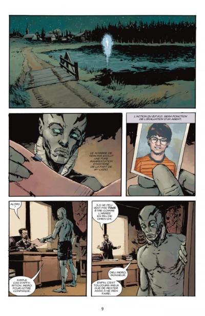 Page 3 Abe sapien tome 2 - la ballade du diable