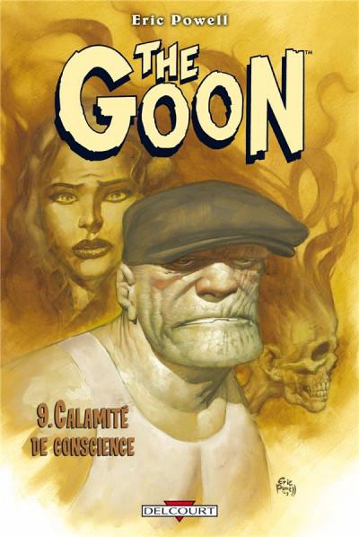 Couverture the goon tome 9 - calamité de conscience