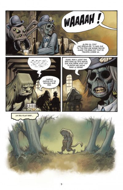 Page 3 the goon tome 9 - calamité de conscience