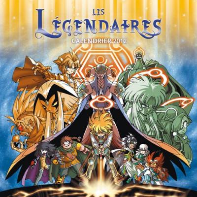 Couverture les Légendaires ; calendrier (édition 2012)