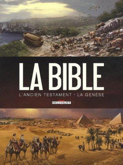 Couverture la bible, l'ancien testament - la genèse tome 1 et tome 2