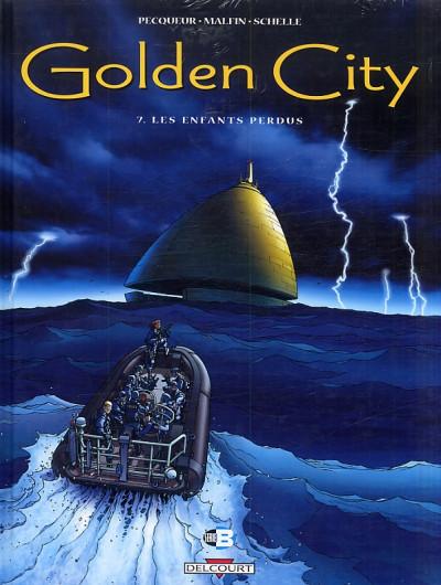 Couverture golden city - pack tome 7 à tome 9 - 1 tome gratuit