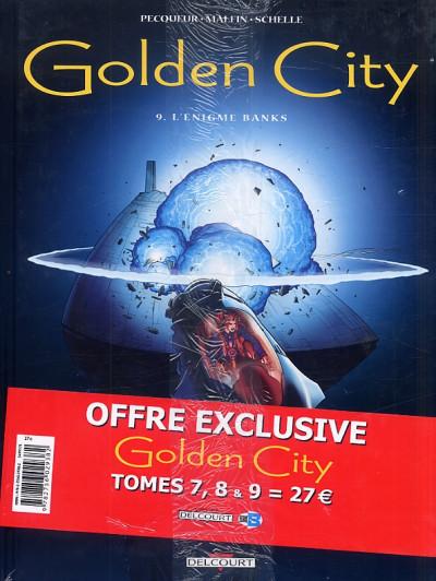 Dos golden city - pack tome 7 à tome 9 - 1 tome gratuit