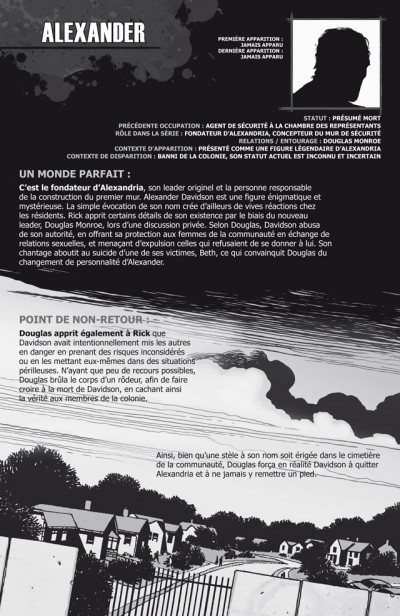 Page 4 walking dead ; le guide de A à Z