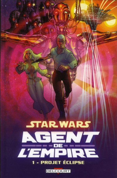 Couverture Star Wars - agent de l'empire tome 1 - projet éclipse